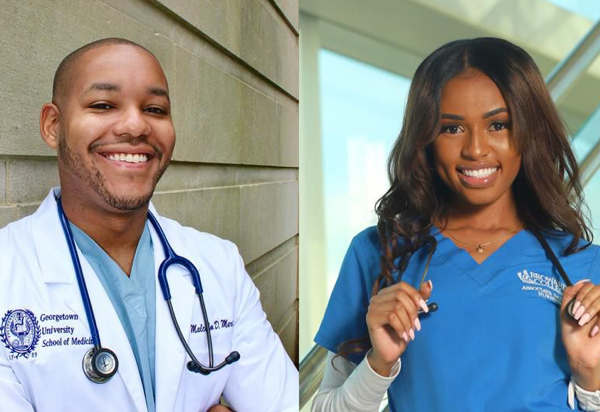 Young, Black, Healthcare Heroes Are Tackling Disparities During Dueling Pandemics